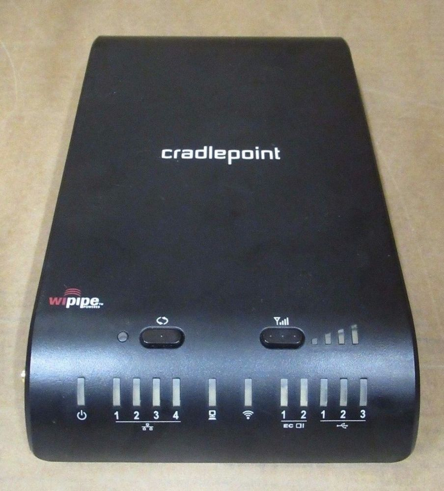 Cradlepoint 1400 Mobile Mission Critical Broadband Router 10/100/1000